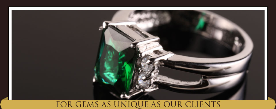 For Gems as Unique as Our Clients - emerald ring