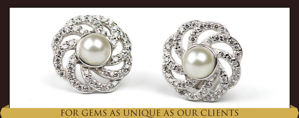 For Gems as Unique as Our Clients - pearls
